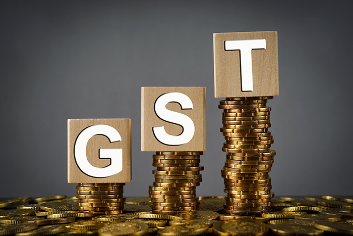 list of GST rates